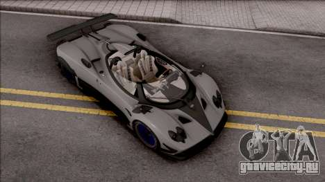 Pagani Zonda HP Barchetta 2018 для GTA San Andreas