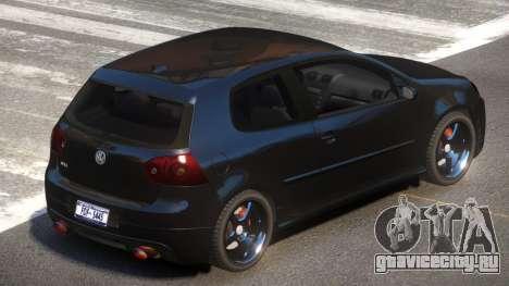 Volkswagen Golf V GTS для GTA 4