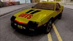 Chevrolet Camaro IROC-Z 1990 Sherlock GUTS для GTA San Andreas