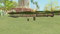 Rocket Launcher GTA V (Army) для GTA San Andreas