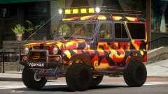 UAZ 31514 Safari для GTA 4