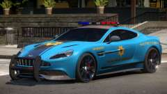 Aston Martin Vanquish Police V1.3 для GTA 4