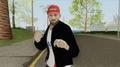 Neymar JR (Beard) для GTA San Andreas