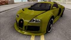 Bugatti Veyron 3B 16.4 для GTA San Andreas