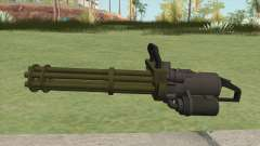 Coil Minigun (Green) GTA V для GTA San Andreas