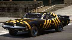 1969 Dodge Charger RT V1.0 PJ3 для GTA 4