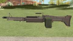 M60 (CS:GO Custom Weapons) для GTA San Andreas