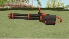 Coil Minigun (Orange) GTA V для GTA San Andreas