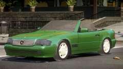 Mercedes Benz SL500 SR для GTA 4