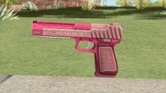 Pistol .50 GTA V (Pink) Base V1 для GTA San Andreas