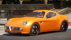 Alfa Romeo 8C V1.0 для GTA 4