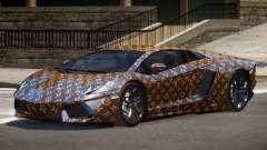 Lamborghini Aventador SS PJ1 для GTA 4