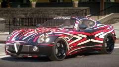 Alfa Romeo 8C V1.0 PJ5 для GTA 4
