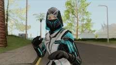 Ninja Azul (Free Fire) для GTA San Andreas
