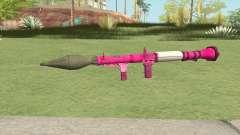 Rocket Launcher GTA V (Pink) для GTA San Andreas