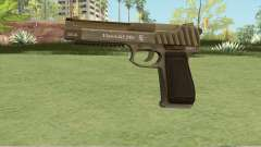 Pistol .50 GTA V (Army) Base V1 для GTA San Andreas