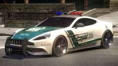 Aston Martin Vanquish Police V1.2 для GTA 4