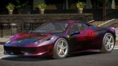 Ferrari 458 Italia Sport PJ3
