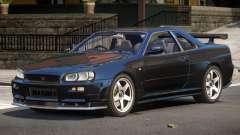 Nissan R34 GTR V1.0 для GTA 4