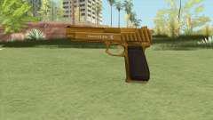 Pistol .50 GTA V (Gold) Base V1 для GTA San Andreas