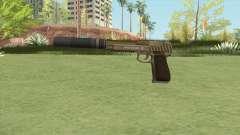 Pistol .50 GTA V (Army) Suppressor V1 для GTA San Andreas
