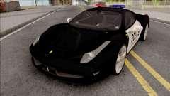 Ferrari 458 Italia 2015 Police Car для GTA San Andreas