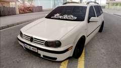Volkswagen Golf 4 White