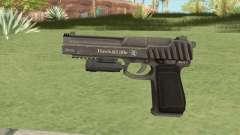 Pistol .50 GTA V (Platinum) Flashlight V1 для GTA San Andreas