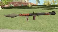 Rocket Launcher GTA V (Orange) для GTA San Andreas