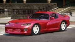 1996 Dodge Viper GT для GTA 4