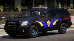 Chevrolet Suburban Police V1.1 для GTA 4