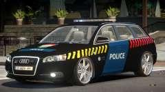 Audi S4 Police V1.0 для GTA 4