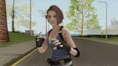 Jill Valentine (RE3 Remake) для GTA San Andreas