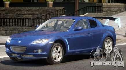 Mazda RX8 Tuning для GTA 4