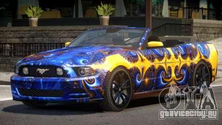 Ford Mustang GT Cabrio PJ3 для GTA 4