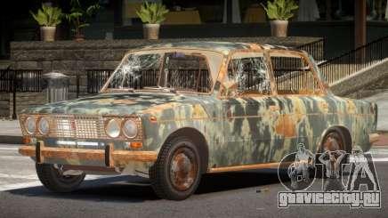 VAZ 2103 Rusty для GTA 4