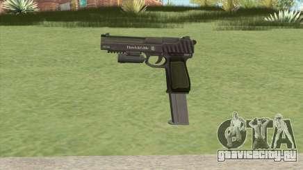 Pistol .50 GTA V (Green) Flashlight V2 для GTA San Andreas