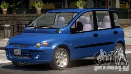 Fiat Multipla V1.0 для GTA 4