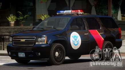 Chevrolet Tahoe Security V1.0 для GTA 4