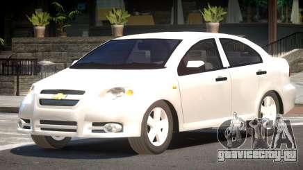 Chevrolet Aveo ST для GTA 4