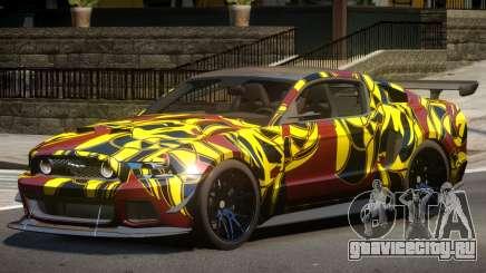 Ford Mustang GT V1.1 PJ1 для GTA 4