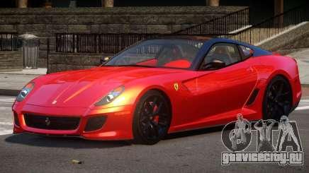 Ferrari 599 GTO Tuned для GTA 4