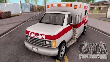 GTA 3 Ambulance для GTA San Andreas
