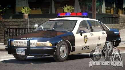 Chevrolet Caprice Police V1.0 для GTA 4