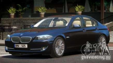 BMW 525 F10 V1.0 для GTA 4