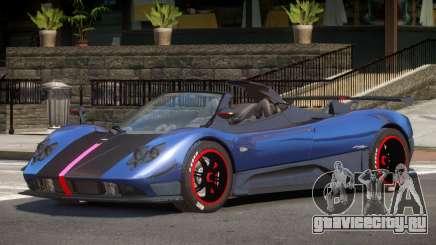 Pagani Zonda Spider V1.1 для GTA 4