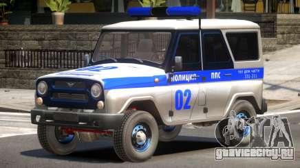 UAZ 315195 Police для GTA 4