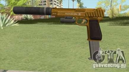 Pistol .50 GTA V (Gold) Full Attachments для GTA San Andreas