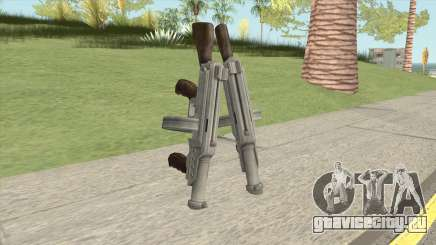 Big Double Submachine Gun для GTA San Andreas