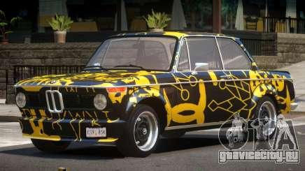 BMW 2002 GT PJ1 для GTA 4